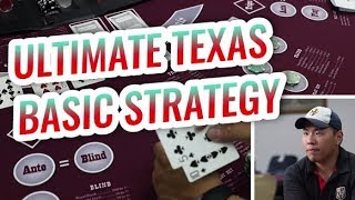 Basic Strategy for Ultimate Texas Holdem