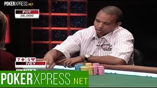 Phil Ivey and Erick Lindgren play heads-up