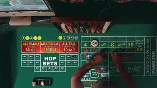"Vinne's Go To ""Drop it down a notch"" Craps Strategies & Tutorials 2020"