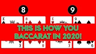 MUST WATCH Before YOU Visit Casino to Play BACCARAT!