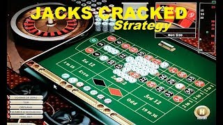How to WIN on ROULETTE with the JACKS CRACKED Strategy. Roulette winning trick !
