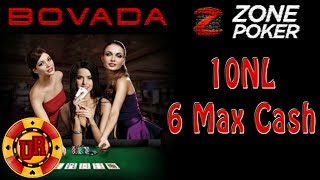 10NL Bovada Poker – Zone Poker EP 6 – Texas Holdem Poker Strategy – Cash Game
