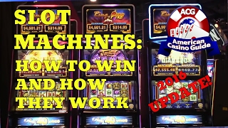 Slot Machines – How to Win and How They Work – 2016 UPDATE