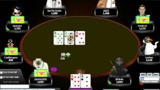 """Online Poker Strategy Video: Playing Hands with """"Bite"""" and semi-suited hands #31"""