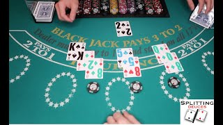 HIGH ROLLER $10,000 Blackjack Score! | Blackjack Tips & Tricks