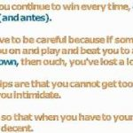 Basic Texas Hold Em Strategy – 2 Very Effective Strategies You Can Use To Win