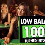Baccarat 100$ to 1350$ – LOW BALANCE? NOPE :) Baccarat XL