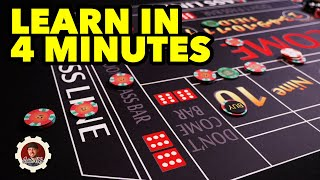 Learn How to Play Craps in 4 minutes