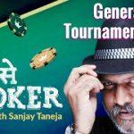 General Tournament Tips | P se Poker