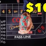 $100 Craps Challenge