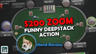 MMAsherdog reviews some HILARIOUS NL200 zoom Poker hands on Pokerstars