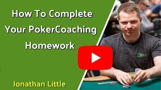 How To Complete Your PokerCoaching Homework and Use The Range Analyzer