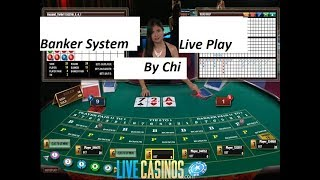 Baccarat Winning Strategies Live Play 6/14/19