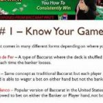 Free Baccarat Tips