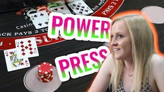 🔥 POWER PRESS 🔥 10 Minute Blackjack Challenge – WIN BIG or BUST #10