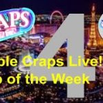 Bubble Craps Live: Tip of the Week 01/16/2020