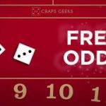 How to place free odds in craps?