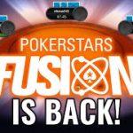FUSION IS BACK! | PokerStars NL Hold'em /Omaha Cashgame | Strategy + Gameplay