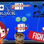 🔷 $50 Hands! Let's see how it goes!! 🐯Poker Blackjack 21 @ Resorts World Casino NYC