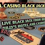 Blackjack Real Live Casino #3 – From Bronco Billy's Hotel and Casino – Cripple Creek, Colorado