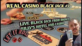 Blackjack Real Live Casino #3 – From Bronco Billy's Hotel and Casino – Cripple Creek, Colorado