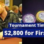 BIG Tournament – Playing Live $5,000 GTD – Poker Vlog 2020 – Poker Vlogs 2019 – Poker Vlogger
