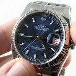 Rolex Datejust 116234 (BLUE/ROULETTE DATE) Luxury Watch Review