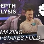 Koon Makes UNBELIEVABLE High-Stakes Fold – Pro Poker Strategy