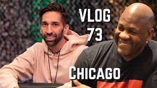 QUADS Again?! The VLOG stops in Chicago | Poker VLOG 73