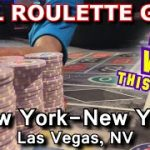 Live Roulette Game #23 – UP AND DOWN! – New York-New York, Las Vegas, NV – Inside the Casino