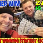 Zach Is Back: Baccarat Winning Strategy Makes $500 Cash For Christopher And Zach In 45 Minutes.