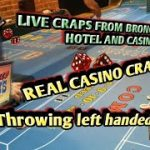 Real Live Casino Craps #12 – Trying a new throw – Left handed toss