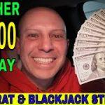 Professional Gambler Uses Baccarat & Blackjack Winning Strategies To Make $1,000 In One Hour!