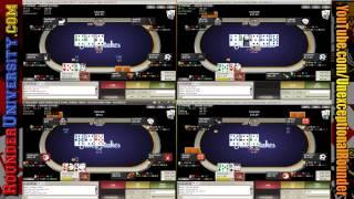 Cash Texas Holdem 50NL – Live Stream – 6 Max Online Cash Game Poker Strategy – pt 4