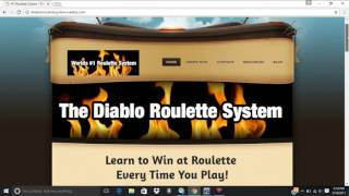 BRAND NEW SYSTEM FOR MAY 2017. CREATED BY A ROULETTE DEALER. BEST ROULETTE SYSTEM