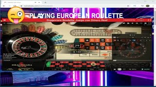 PLAYING ON THE EUROPEAN ROULETTE WITH THE STRATEGY RECURRENT FREQUENCIES / LIVE CASINO💪
