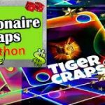 💲 Millionaire Craps Snake Pit – 🐍Python $7500 Profit Betting Strategy