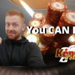 YOU CAN DO IT!! Be A PROFESSIONAL POKER PLAYER!! Live The DREAM