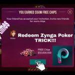 Zynga Poker Trick Redeem 2019