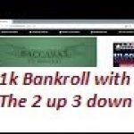 Baccarat Chi Winning Strategies with Money Management 9/29/19