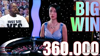 3 Amazing Roulette Spin Wins. BIG MONEY !!!