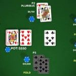 AI beats professionals at six-player Texas Hold 'Em poker