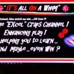 Craps EXCEL! Craps Strategy FAIL …Yes, You can LOSE !! Play @ Own Risk !