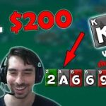 We did it! NL200 FastForward Live Play & Explain (online poker)