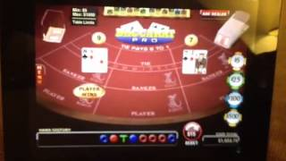 Make $25-100 an hour playing Baccarat