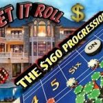 Craps Strategy – THE $160 Progression Strategy to try to win at craps!