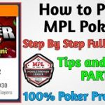 MPL Poker Game How to Play ,Poker Game kaisa khele 100% Tips and Tricks {Part-1}2020