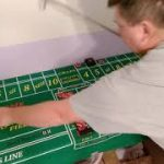 Craps strategy using the 3 point DON'T