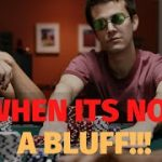 When it Looks Like a BLUFF but it isn't (Poker Strategy)
