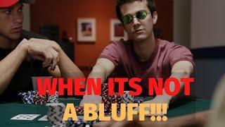 When it Looks Like a BLUFF but it isn't (Poker Strategy)